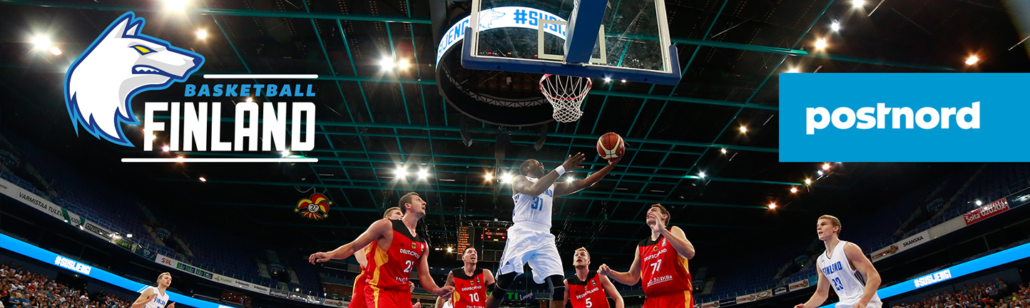 PostNord speeds up the Finnish national basketball team's games
